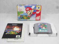 Nintendo 64 N64 Super Mario 64 PAL Aus Boxed
