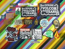 Volcom snowboard skateboard patch - assorted graphics new and vintage