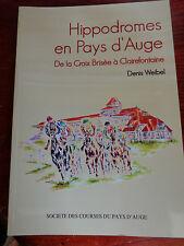 Hippodromes en pays d'Auge De la croix brisée à Clairefontaine Normandie cheval