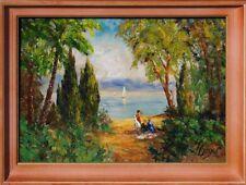 Wandbild, akadem. Künstler signiert W.H. Unger - Moderne Kunst    65-383 xxx