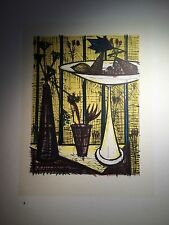 Bernard BUFFET - Lithographie : La Coupe à Fruits - Mourlot 1967