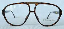 NEW Authentic Vintage AVIATOR Christian Dior 2457 Eyeglasses Sunglasses FRAME