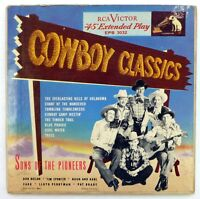 SONS OF THE PIONEERS 2 x 45 EP 8 tracks RCA VICTOR country/cowboy ak352