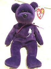 1st Edition Princess Diana 1997 Retired Ty Beanie Baby - PRISTINE QUALITY