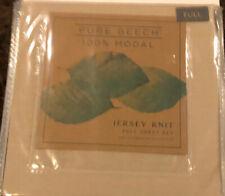 Brand New Pure Beech 100% Modal Jersey Full Sheet Set Beige Taupe
