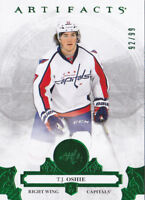 17-18 Artifacts T.J. Oshie /99 Emerald Green Capitals 2017