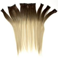 Perruques et toupets brun clair raides pour femme
