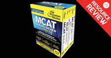 2015 The Princeton Review MCAT Complete Package Books Package  Read Description!