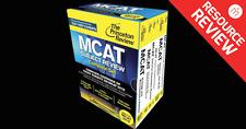 2015 The Princeton Review MCAT Complete Package Books Package  Read Description!