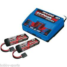 Traxxas EZ-Peak Plus 100 Watt 8-Amp LiPo Dual Battery/Charger Completer Pack