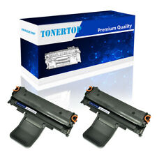 2 Pack Black Toner Cartridge Compatible For Samsung ML1640 ML-2240 High Yield