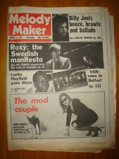 MELODY MAKER 1979 MAR 3 BLONDIE BILLY JOEL ROXY MUSIC