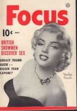 Focus May 1953 Marilyn Monroe Cheesecake Pin Up Digest 091718AME