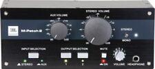 JBL M-Patch 2 m Patch 2 monitor Controller de distribución Studio Pro Audio neu&ovp