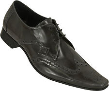 Brogues 100% Leather Upper Shoes Square Jeffery~West for Men