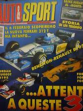 Auto & Sport ROMBO 5 1995 Sainz Subaru al Montecarlo storia di un trionfo