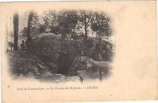 77 - CPA - Wald fontainebleau - Höhle von den Banditen (1255)