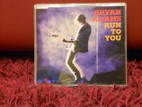 BRYAN ADAMS - RUN TO YOU - CD SINGOLO slim case  NUOVO 1994