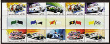 AUSTRALIA 2002 RACING CARS GUTTER STRIPS UNMOUNTED MINT, MNH..