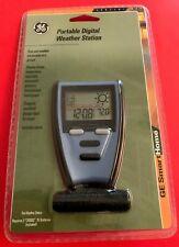 Vintage GENERAL ELECTRIC Portable Digital Weather Station GE5805WS10-D