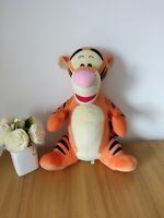 """Large Tigger Soft Toy 22"""" Mattel Disney 2003 Plush Winnie The Pooh Big Teddy"""