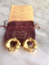 earrings 24k Gold Plated Joyeria Kano Colombia precolombian