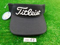 Titleist Golf Sport Visor Navy Black/White New Forest Dunes Logo