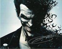 "Troy Baker Autograph Signed 11x14 Photo - Arkham Origins ""Joker"" (JSA COA)"