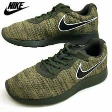 Original Nike Tanjun Premium Mens Cargo Khaki Olive Running Shoes Size US7/ JP25