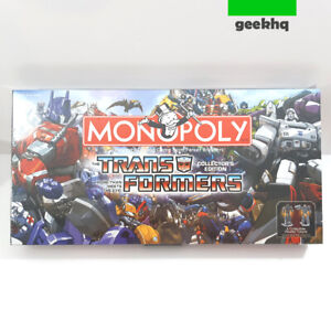 ⭐ NEW - Transformers Monopoly Collectors Edition ' SEALED