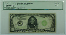 1934 $1000 One Thousand Dollar Bill LGS FRN Fr. 2211-G Legacy VF-25 (DW)