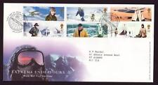 29069) UK - GREAT BRITAIN 2003 FDC Extreme adventures 6v