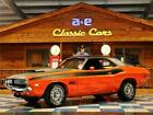1970 Dodge Challenger T/A 340 Six Pack 1970 Dodge Challenger T/A – Hemi Orange / Black