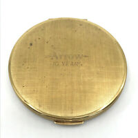Stratton UK Powder Compact Arrow 10 Year Service Award 1950s Sifter Vtg