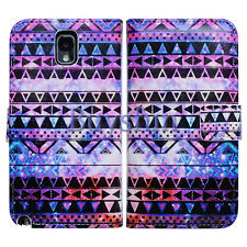 Bcov Tribal Pattern Slot Wallet Leather Cover Case for Samsung Galaxy Note 3