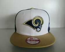 New Era St. Louis Rams 9Fifty 950 NFL Blue White Gold Snapback Hat Cap