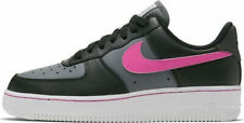 Scarpe sportive donna NIKE Air Force 1 lo pelle nero rosa CJ9699-001