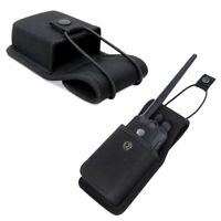 Nylon Pouch Holster Bag Case For Universal Hand-held Two Way Radio Walkie Talkie