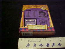 Harry Potter Great Things Mini Tattoo Set Warner Bros Licensed 4 Stamps Purple P