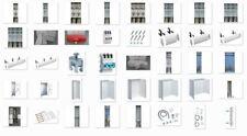 Zählerschränke konfigurieren 1-5 feldrig, Hager, ABB, SLS, Automaten, 1100mm BH.