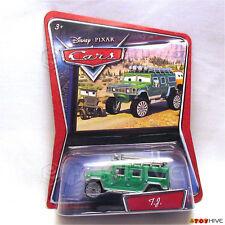 Disney Pixar Cars Walmart Exclusive Green TJ Hummer - variant card