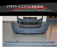 Bodykit für VW Golf 7 VII Stoßstange Seitenschweller Diffusor GTI R GTD R400 ABS