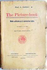 PROF. A.SARDO THE PICTURE BOOK  METODO PER LA CONVERSAZIONE IN INGLESE 1935