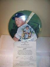 Mickey Mantle New York Yankees Marigold 10 Inch Plate