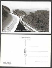 Old Postcard - San Paulo, Brazil - Via Anchieta - Real Photo, RPPC