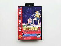 Sega Genesis Battle Mania 2 Trouble Shooter Vintage English (USA Seller) SHMUP