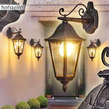 klassische Garten Aussen Wand Leuchten Down Hof Veranda Terrassen Lampen schwarz