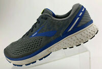 Brooks Ghost 11 Running Shoes Gray Multi Color Comfort Training Mens Size 11.5 D
