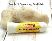 Essential Oil Inhaler / Calming, Stress Relief, and Relaxation / Nasal Inhaler