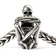 Trollbeads Original Bead 925 Silber Skelett TAGBE-50021 Skeleton Spirit Charm